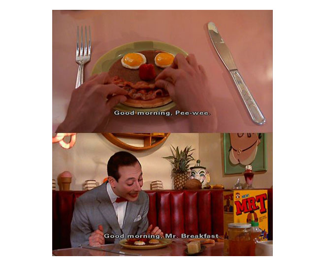 Pee Wee breakfast